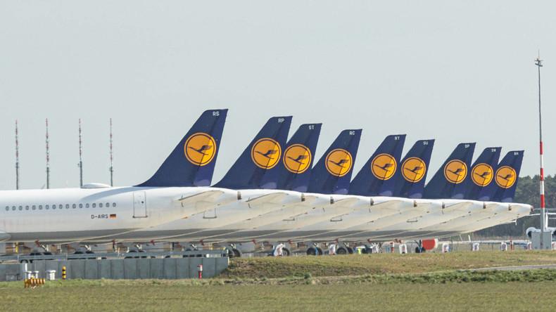 Lufthansa vermeldet Milliardenverlust und hofft auf Staatshilfe