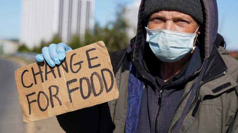USA: Arbeitslosenzahl steigt in einer Woche um 4,4 Millionen, Gesamtzahl übersteigt 26 Millionen
