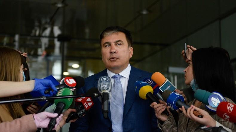 SaakaschwilinimmtAngebot von Präsident Selenskij an, stellvertretender Premierminister zu werden