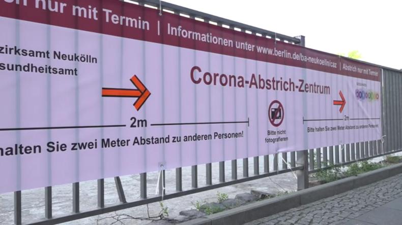 """Deutschland: Erstes """"Drive-in""""-Coronavirus-Testzentrum in Berlin-Neukölln in Vorbereitung"""