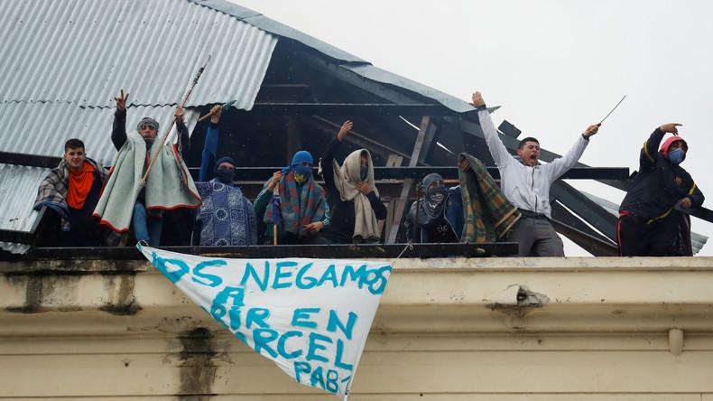 Argentinien: Häftlinge rebellieren in Gefängnis aus Angst vor Coronavirus