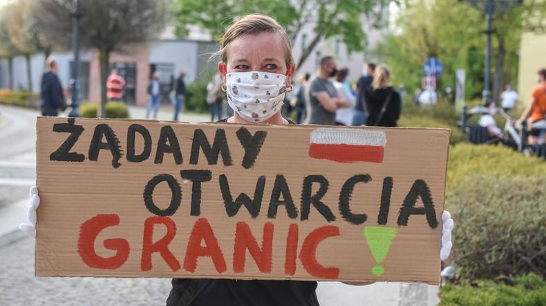Polen: Demonstrationen gegen Grenzschließungen