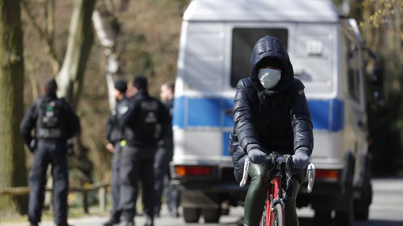 Berlin: Großeinsatz der Polizei bei Beerdigung im Clan-Milieu