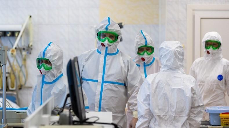 Russland: Militärärzte helfen bei Behandlung von Coronavirus-Patienten in der Region Moskau