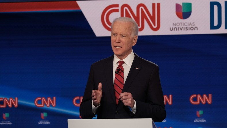 US-Präsidentschaftskandidat Joe Biden droht ein Sexskandal (Video)
