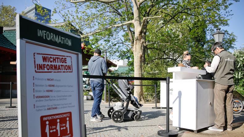 LIVE: Berliner Zoo öffnet wieder seine Tore inmitten der Ausgangsbeschränkungen