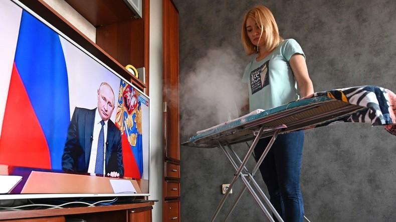 """Putin verlängert Corona-Einschränkungen um zwei Wochen: """"Wir stehen vor der anstrengendsten Etappe"""""""