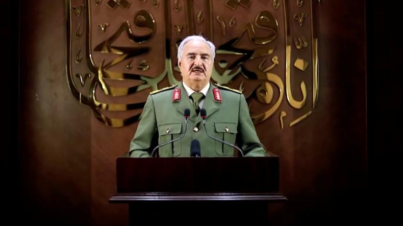 """Libyscher Befehlshaber Haftar greift nach der Macht: """"Akzeptiere den Volkswillen"""" zu regieren"""