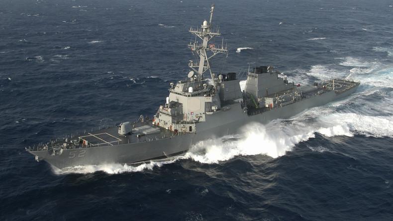 Chinesische Marine vertreibt US-Kriegsschiff aus von Peking beanspruchten Hoheitsgewässern