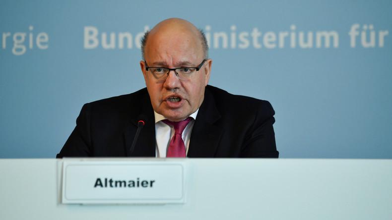 LIVE: Altmaier stellt Prognose für gesamtwirtschaftliche Entwicklung vor