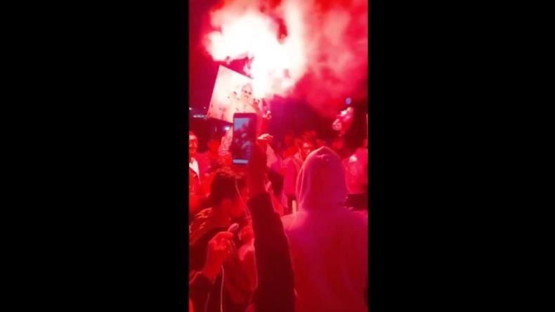 """Bengasi: Einheimische feiern, weil Haftar türkisch-gestützte """"GNA-Regierung"""" für nichtig erklärt"""