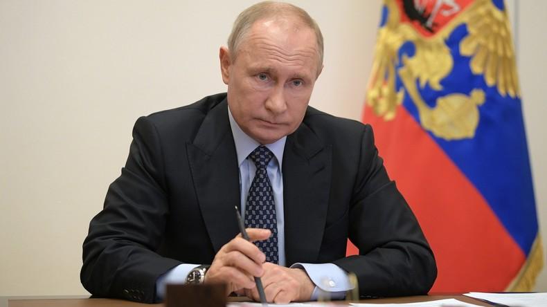 Putin: Internationale Anstrengungen zur Stabilisierung des Energiemarktes nötig