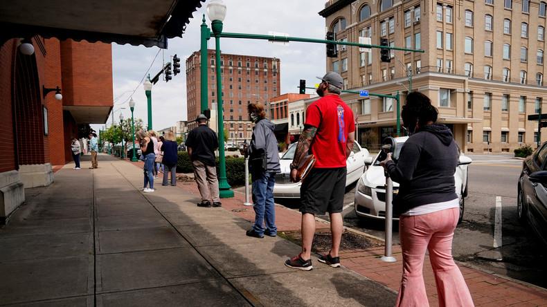 Umfrage enthüllt Dunkelziffer: Arbeitslosigkeit in USA betrifft bis zu 40 Millionen Menschen