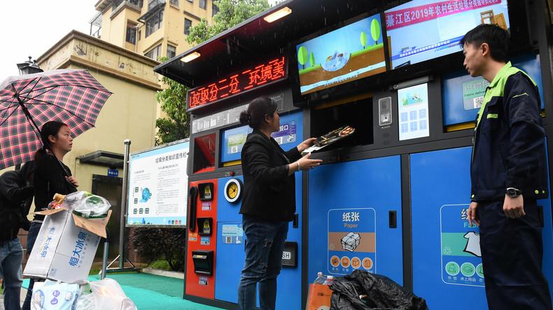 Blick nach vorn: China verstärkt Kampf gegen Wegwerfartikel und Plastikmüll