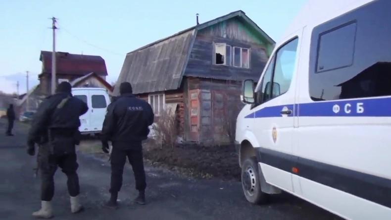 Russischer Geheimdienst FSB vereitelt Terroranschläge: Drei IS-Anhänger getötet (Video)