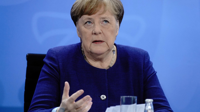 LIVE: Kanzlerin Merkel gibt nach Treffen mit Ministerpräsidenten Erklärung zur Coronakrise ab