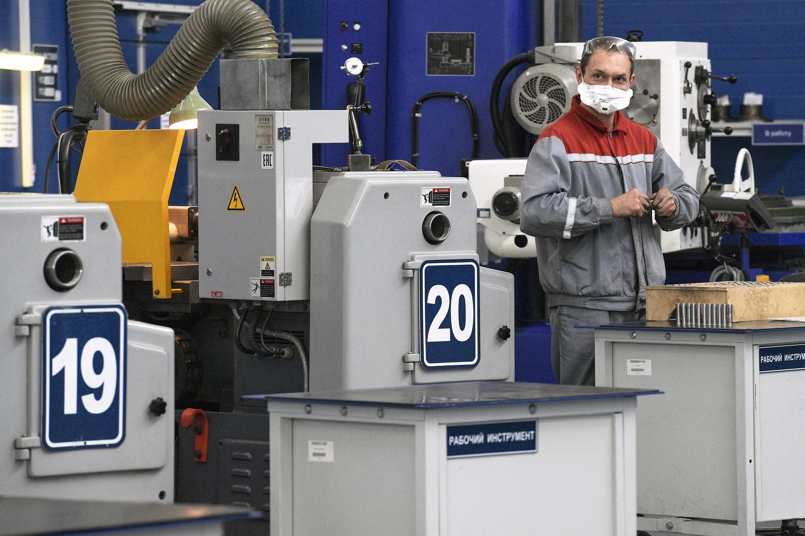 Corona-Krise in Russland: Produktionsstopp trifft deutsche Firmen hart