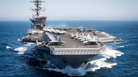 Der Flugzeugträger USS Theodore Roosevelt am 30. April 2017 im Pazifik.