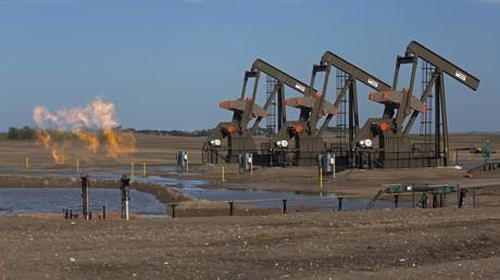 Niedrige Ölpreise bedrohen die Existenz der Frackingindustrie in den USA.