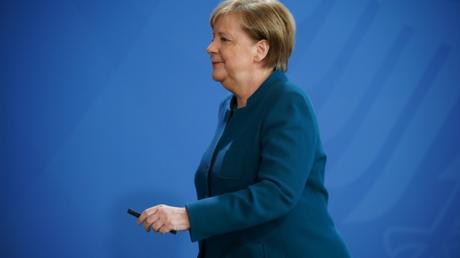 Auf dem Weg zur fünften Amtszeit? Eher nicht. Bundeskanzlerin Merkel am 22. März in Berlin