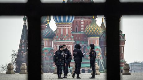 In Moskau gelten bis mindestens Ende April strenge Ausgangsbeschränkungen.