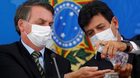 Der brasilianische Präsident Jair Bolsonaro hat den Gesundheitsminister Luiz Henrique Mandetta entlassen