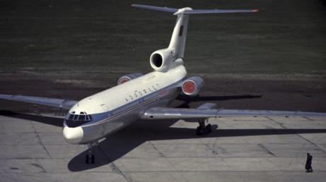 Archivbild: Ein sowjetisches Passagierflugzeug Tupolew Tu-154. An der Entführung einer solchen Maschine war Konstantin Schatochin als Minderjähriger beteiligt.