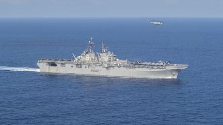 Die USS America befindet sich zurzeit im Südchinesischen Meer.