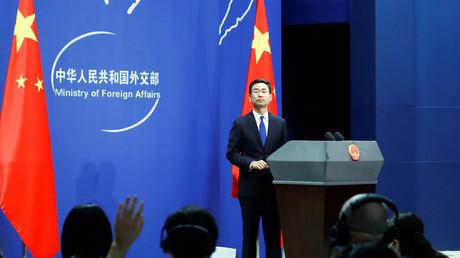Der Sprecher des chinesischen Außenministeriums Geng Shuang