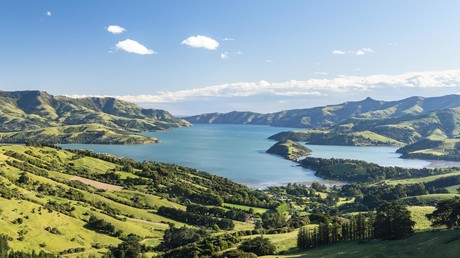 Heile Welt mit Bunkern? Landschaft bei Christchurch in Neuseeland – Berichten zufolge Zufluchtsort für superreiche US-Amerikaner