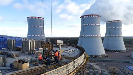 Symbolbild. Ein Kernkraftwerk in Russland.