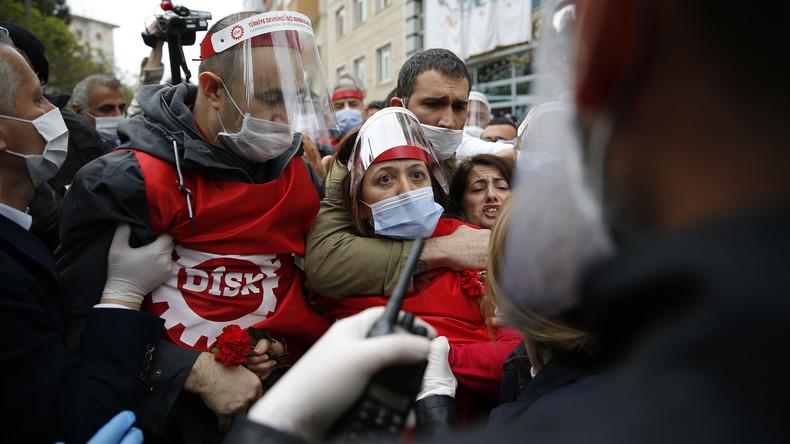 Istanbul: Gewerkschafter vor Mai-Feier festgenommen
