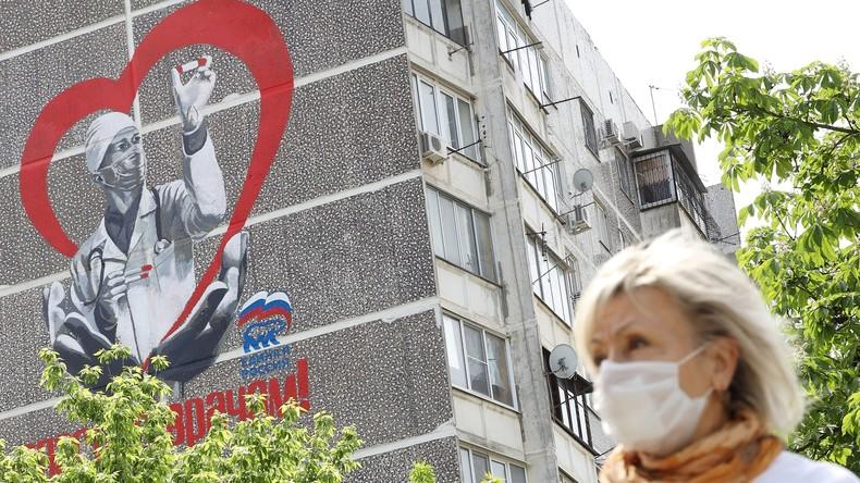 Aktuelle Corona-Lage in Russland: Knapp 8.000 neue Infektionen