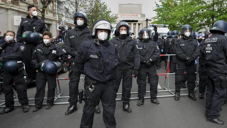 LIVE: Erneuter Anti-Lockdown-Protest in Berlin