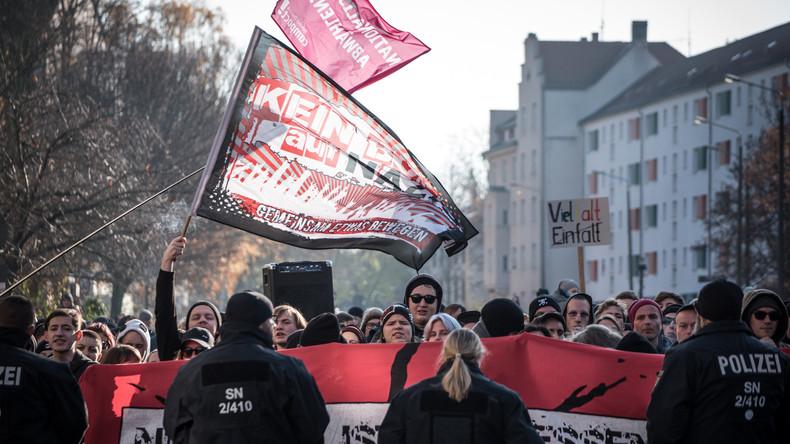 Mehrere Hundert Teilnehmer bei Demo in Leipzig-Connewitz