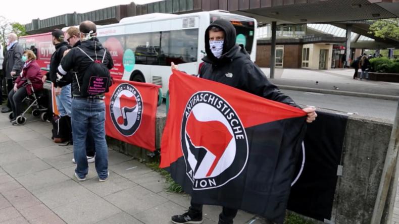 Hamburg: Antifaschistische Demonstration gegen Nazis und Grenzen am 1. Mai