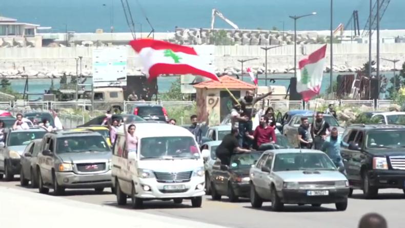 Am Tag der Arbeit: Hunderte auf den Straßen Beiruts, um gegen wirtschaftliche Lage zu protestieren