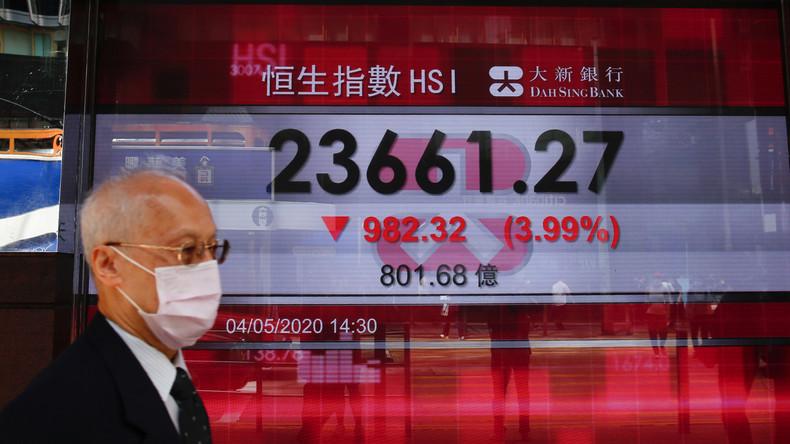 Corona und Proteste: Hongkongs Wirtschaft verliert im ersten Quartal 8,9 Prozent