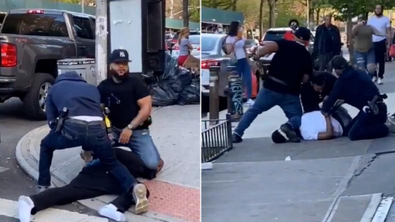 New York: Corona-Abstand nicht eingehalten – Polizeieinsatz eskaliert