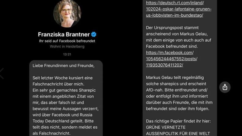"""""""Entfreundet ihn, er ist AfD-nah!"""" – Fake News und Denunziation als Mittel grüner Selbstverteidigung"""