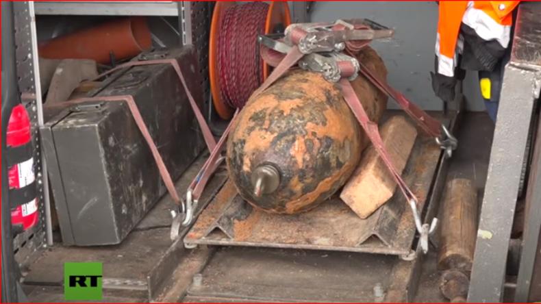 US-Fliegerbombe in Nürnberg: Sabotage am Zünder?