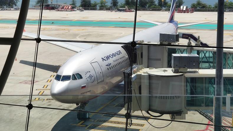 Aeroflot: Internationaler Flugverkehr wird wahrscheinlich erst Mitte des Jahres wieder aufgenommen