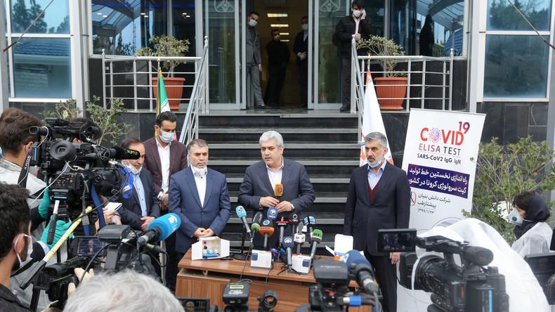 Unterschätzte Forschungsmacht: Iran liefert 40.000 COVID-19-Antikörpertests nach Deutschland