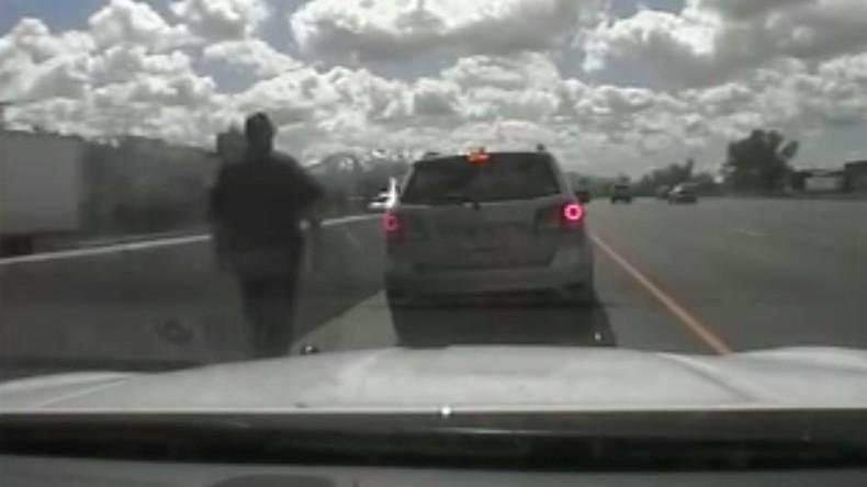 Mit fünf Jahren am Steuer: US-Polizei stoppt Ausbüxer auf Autobahn