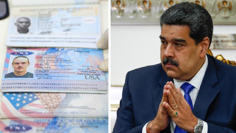 """Maduro präsentiert Dokumente von verhafteten US-Söldnern: """"Sind Mitarbeiter von Trump"""""""