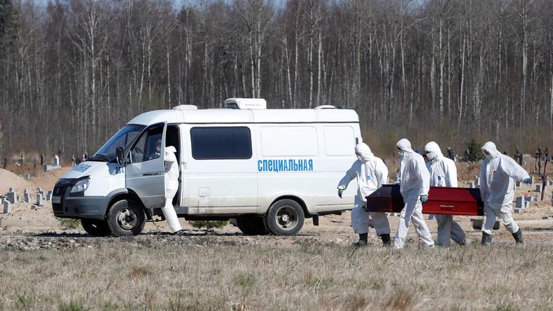 Corona-Pandemie: Russland hat jetzt offiziell mehr Infizierte als Deutschland