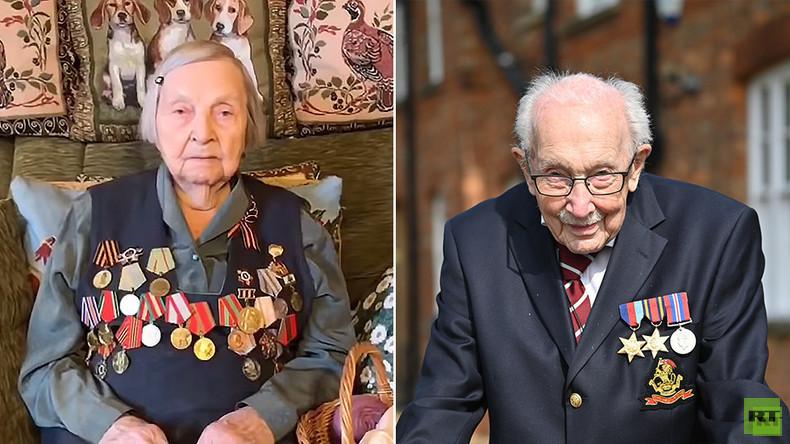 Von Tom Moore inspiriert: 98-jährige russische Kriegsveteranin startet Spendenaufruf für Ärzte