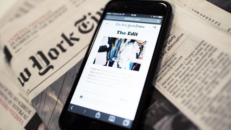 """""""Pure Lügenmärchen"""": Russland kritisiert Verleihung von Pulitzer-Preis an New York Times"""