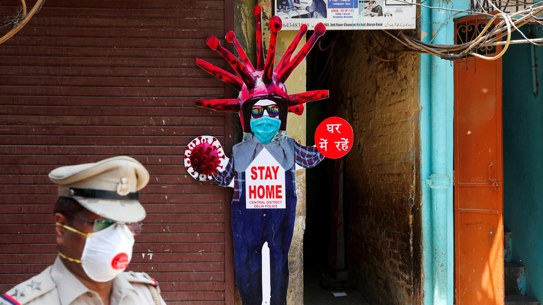 Indien: Dienstleistungsbranche kommt wegen Lockdown fast vollständig zum Erliegen