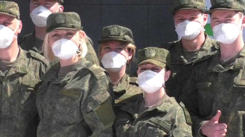 Italien: Bergamohält Abschiedsfeier für russische Militärmediziner ab